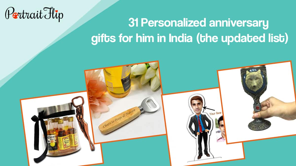 31 Personalized Anniversary Gifts For Him In India Updated List